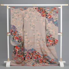 グレー 枝垂桜 道長取り四季の花