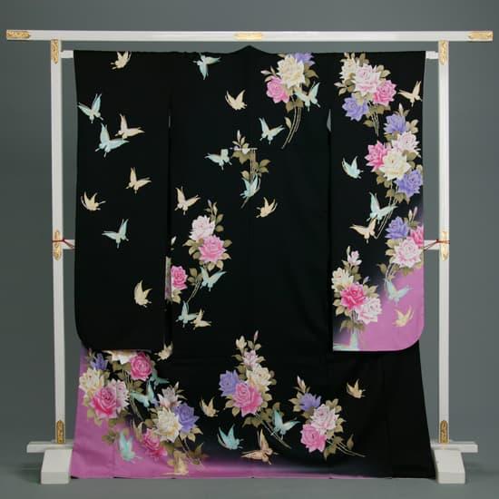 黒 薔薇と蝶 Rose&Butterfly