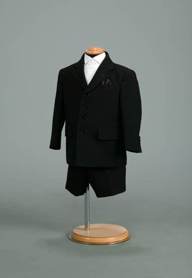 2P 黒/紫ステッチスーツ *パンツ付き