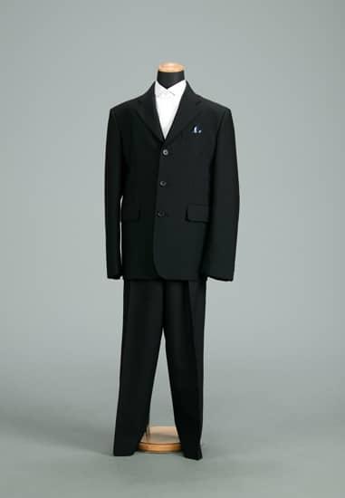 2P 黒/水色ストライプKansai  *パンツ付き