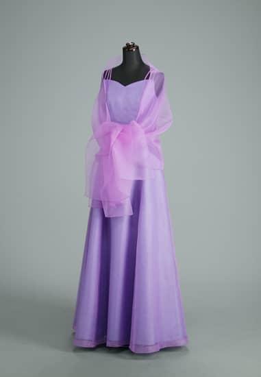 薄紫 パールオーガンAライン スリーストラップ