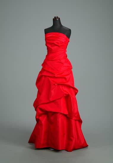 赤タフタカシュクールドレープビスチェAライン *ビスチェ&スカート2点セット