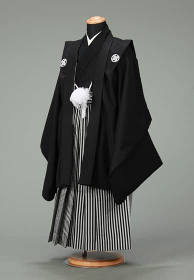 五歳紋付袴セット0001