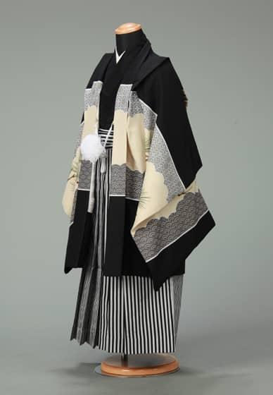 五歳紋付袴セット0003