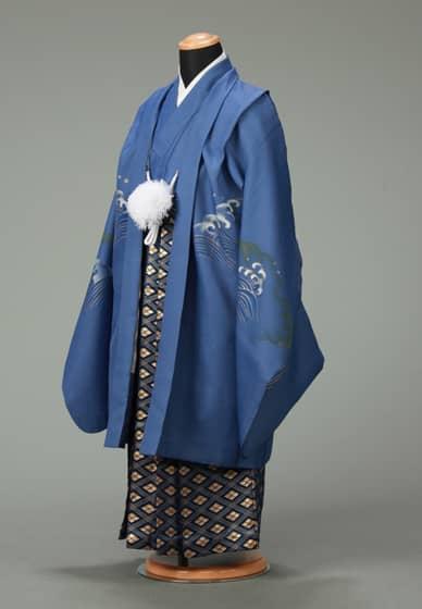五歳紋付袴セット0008