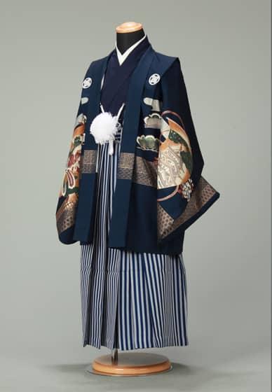 五歳紋付袴セット0010