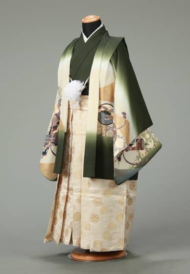 五歳紋付袴セット0012
