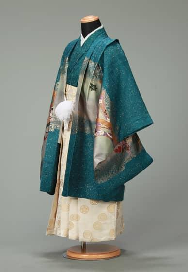 五歳紋付袴セット0013