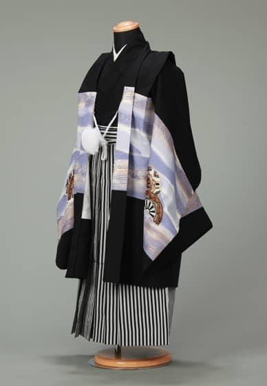 五歳紋付袴セット0014
