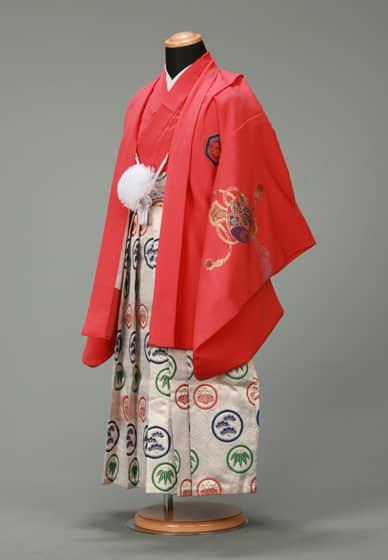 五歳紋付袴セット0015