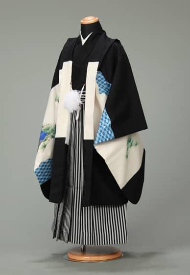 五歳紋付袴セット0017