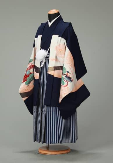 五歳紋付袴セット0018