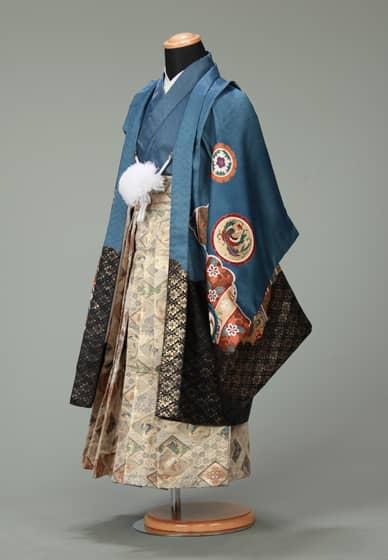 五歳紋付袴セット0019