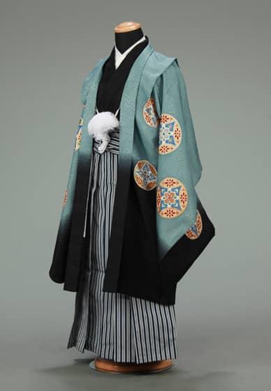 五歳紋付袴セット0020