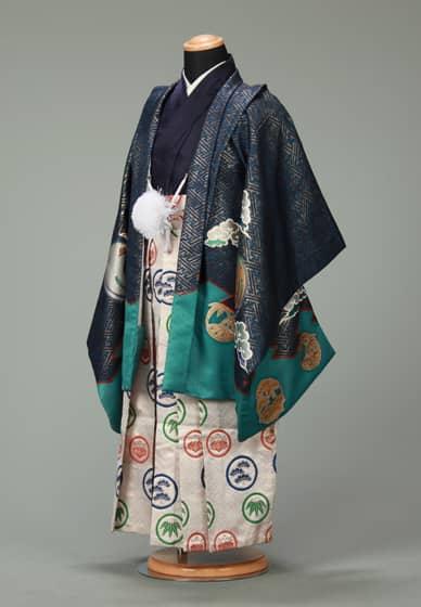 五歳紋付袴セット0021