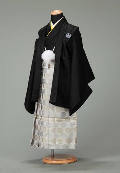 五歳紋付袴セット0022