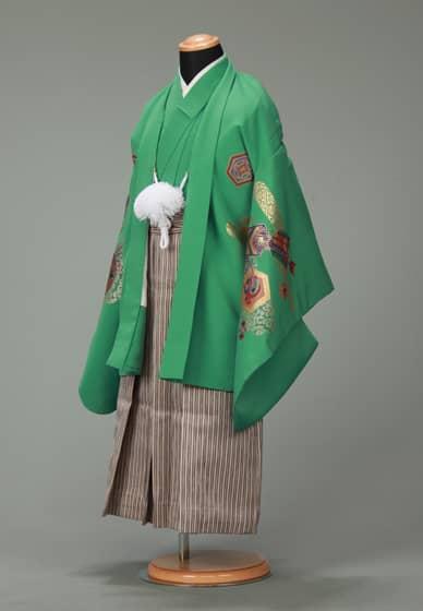 五歳紋付袴セット0023