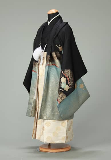 五歳紋付袴セット0025