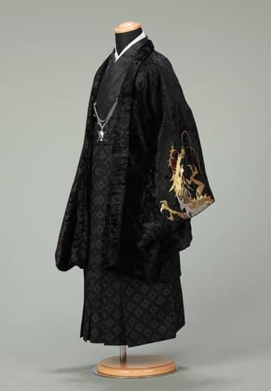 五歳紋付袴セット0028