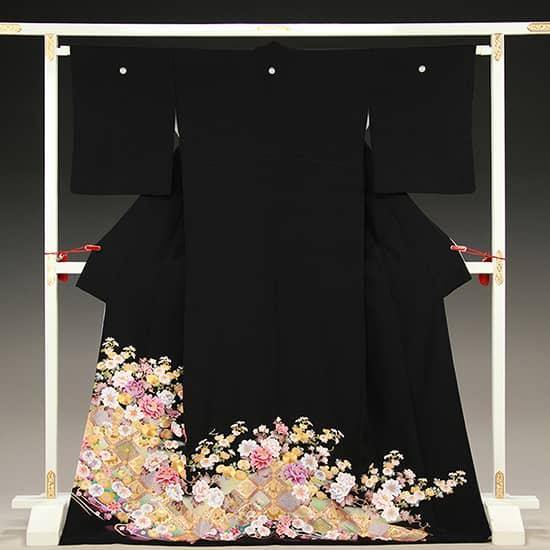 格天井 菊 牡丹